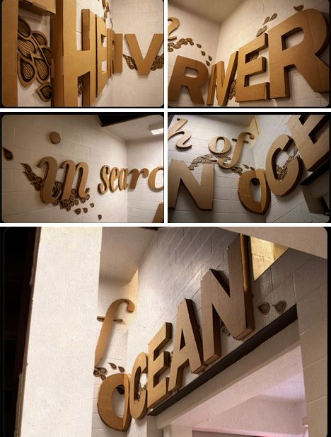 These art projects all bring the charm of typography into the physical world. From sculptures to toys, these are some of the loveliest physical typography art.