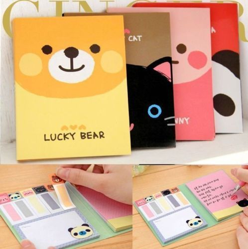 Animals Cute Sticker Post It Bookmark Point It Marker Memo Flags Sticky Notes #UnbrandedGeneric
