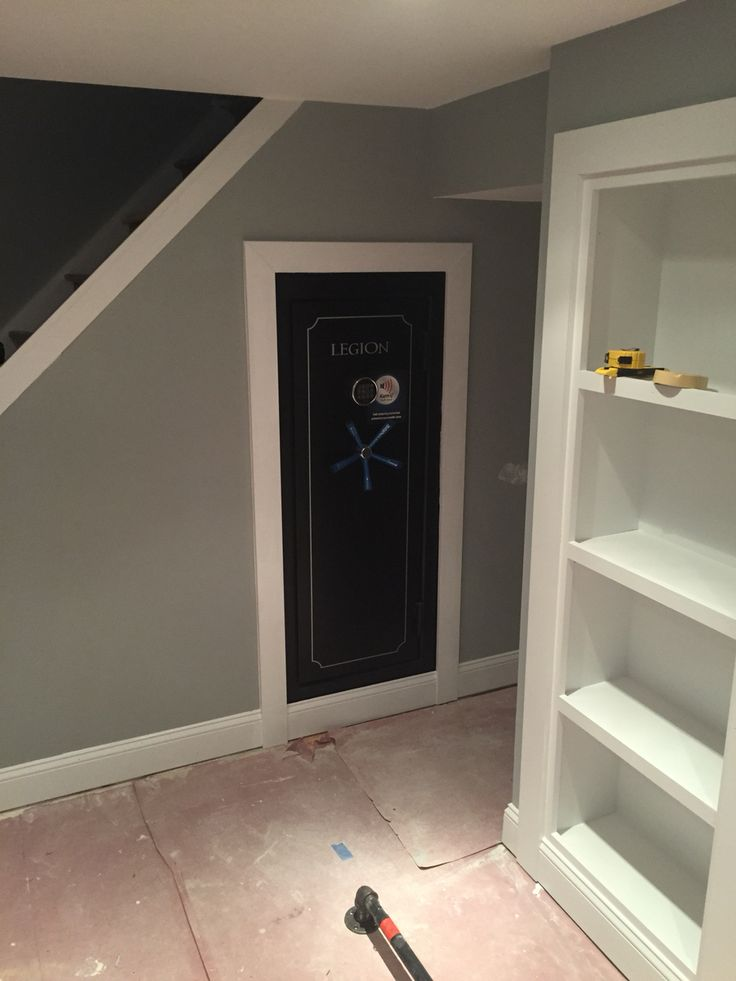 17 best ideas about gun safe room on pinterest hidden for How to build a gun safe room