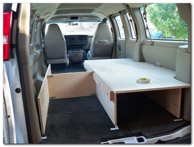 50 Simple Camper Bed Ideas Camper Beds Van Living Van Bed