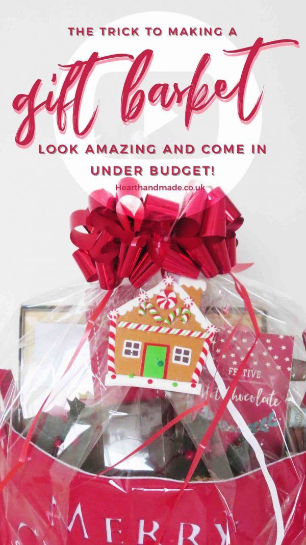 The Trick To Make A Gift Hamper Look Amazing And Under Budget Gift Hampers Birthday Ideas For Her Diy Gifts For Mothers