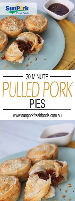 Easy ~ Delicious Pulled Pork Pies! Perfect for Kids!