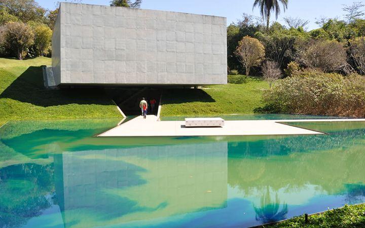Inhotim museum . Brazil