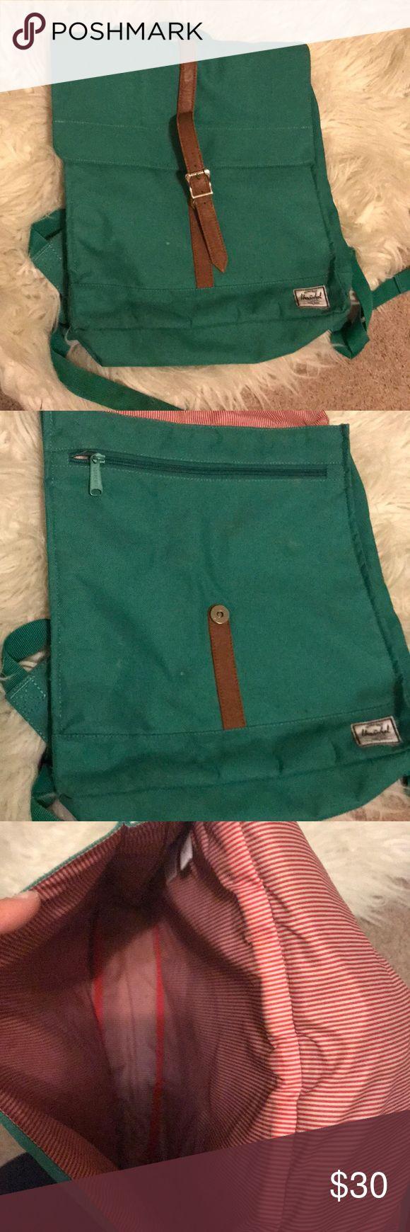 Herschel backpack Green/teal color. Well loved Herschel Supply Company Bags Backpacks