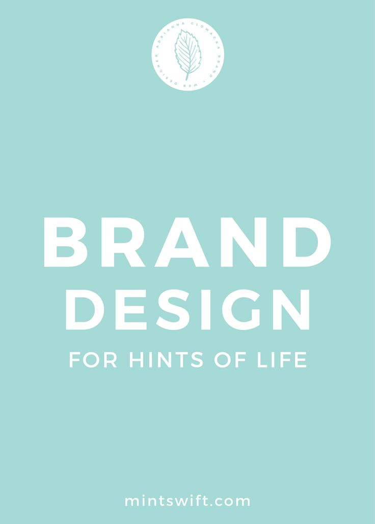 Designing brand for lifestyle bloggers can be challenging because their identity needs to be versatile to fit all of the topics that they cover on a blog. Brand design for Hints of Life was such a unique experience for me as a designer. Rachel story and her vision for her brand put me in magical mood and inspired me to create a brand identity in a style that I haven't designed before. Below, you'll find out more about Rachel's brand, her brand keywords, what package did she choose...