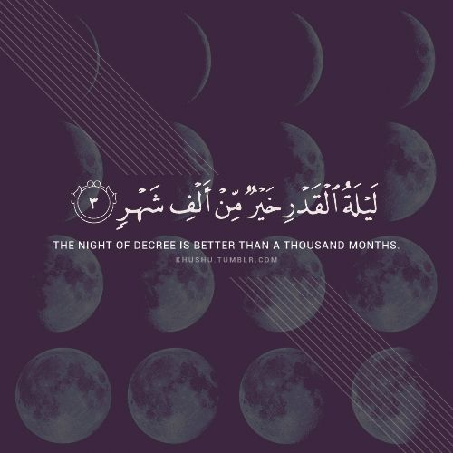 The Night of Decree is better than a thousand months