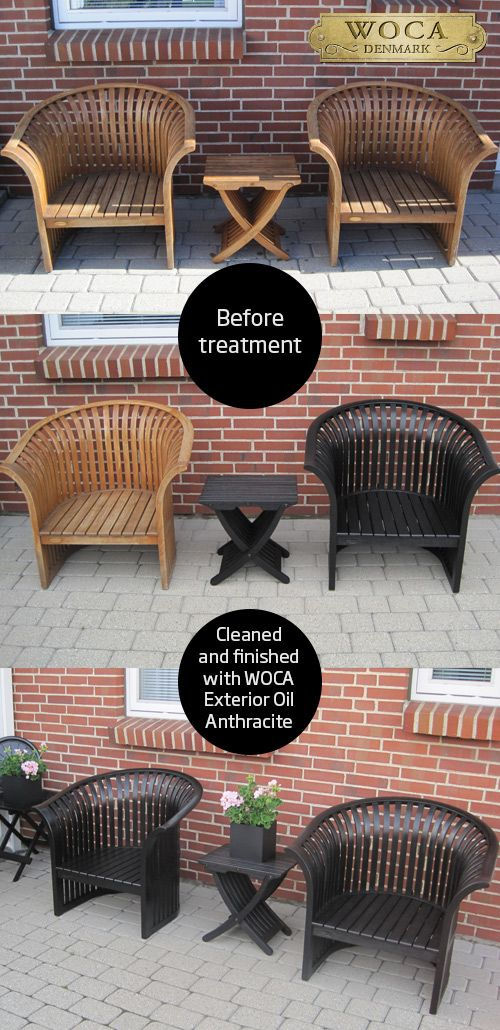 Wooden garden furniture cleaned w  WOCA Exterior Cleaner and oiled w  WOCA  Exterior Oil. 27 best WOCA  outdoor images on Pinterest   Decking  Hawaii and