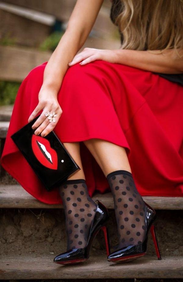 179ea7e69b5 Sheer Socks are Becoming a Trend  sheer  socks  footwear