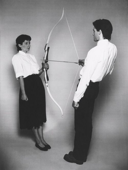 Marina Abramovic and Ulay. 1980.