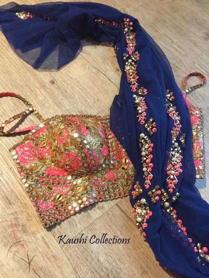 Sparkling Fashion: Mirror work Sarees & Blouses