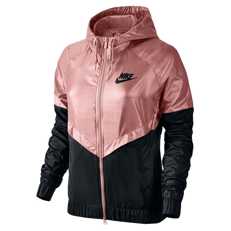 A legendary NSW look gets a playful makeover with the Women's Nike  Sportswear Windrunner Jacket. This lifestyle jacket features the iconic  chevron on the ...