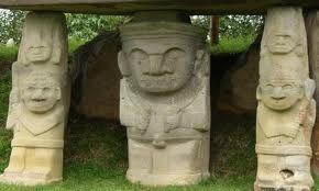parque arqueológico de san agustin. Huila colombia