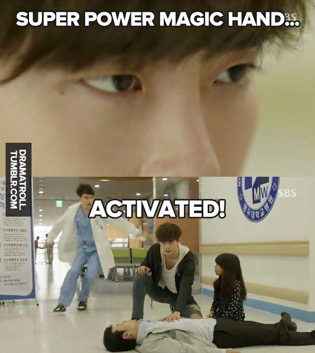 hahahahahha.. Doctor Stranger...it's pretty funny...:)