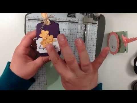 Stampin Up Cadbury Egg Treat Holder