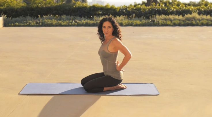 The Yoga Studio with Mandy Ingber: Strengthen Your Back   NET-A-PORTER.COM