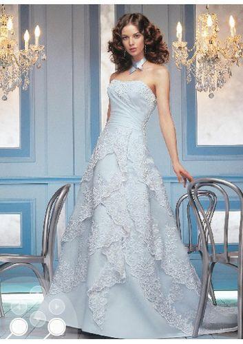 27 best Colourful wedding dresses images on Pinterest | Wedding ...