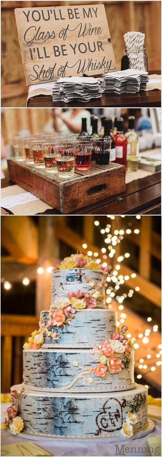 rustic country wedding decor ideas / www.deerpearlflow… – Lisa McDougall