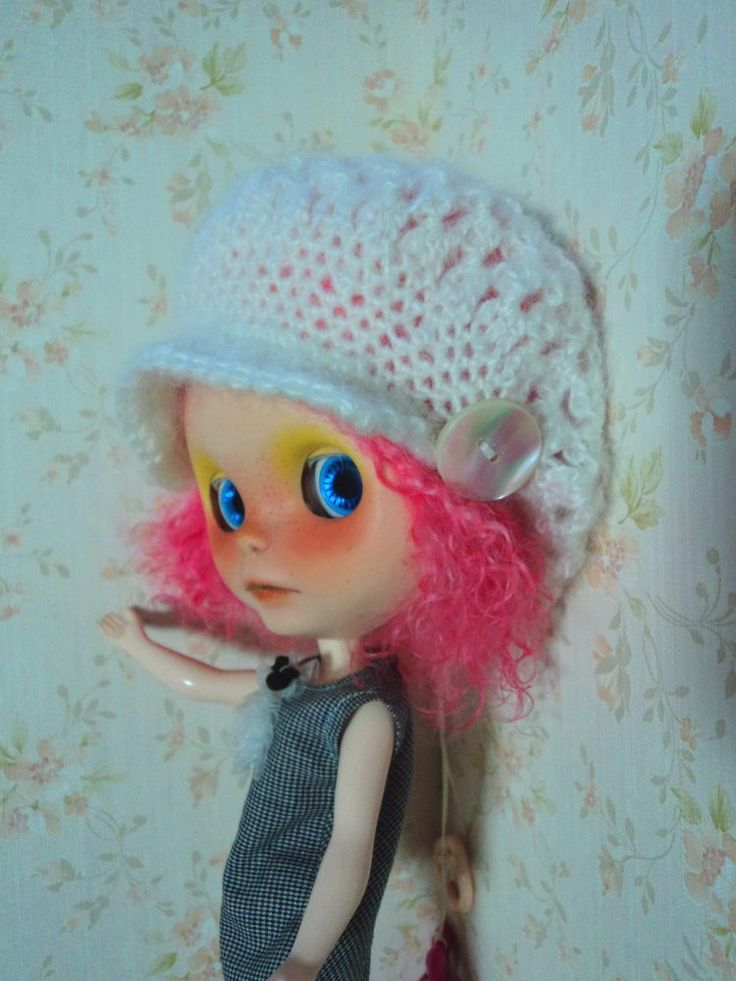White Monello hat