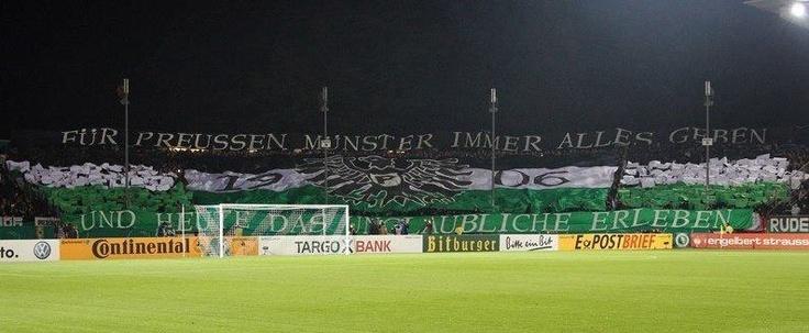 DFB Pokal 2. Runde: Preußen Münster - FC Augsburg   30.10.2012