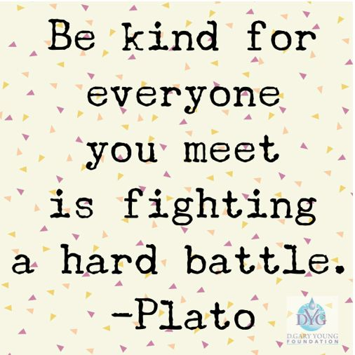be kind for everyone you meet is fighting a hard battle shirt