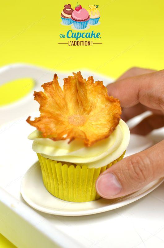 """Cupcakes """"Hummingbird"""" : un Cupcake si doux et si fruité que les colibris ne peuvent s'empêcher de le butiner !"""