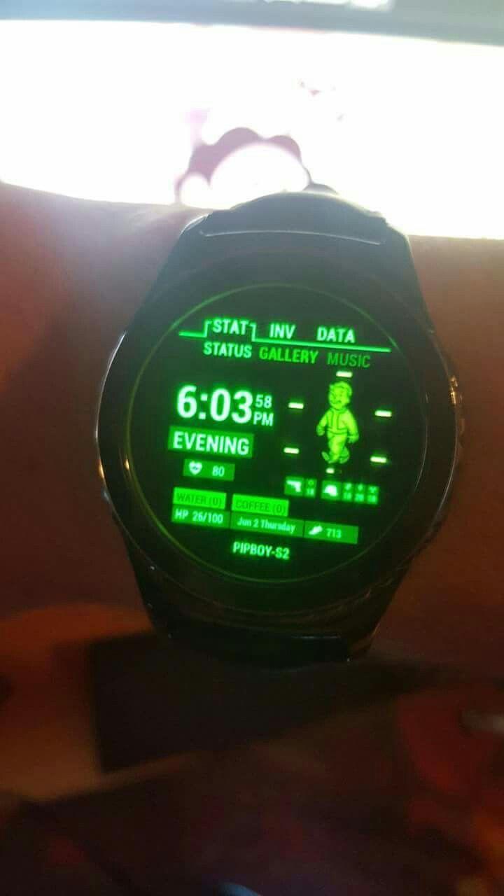 Samsung Galaxygear s2 fallout app
