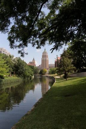 San Antonio Riverwalk in King William District