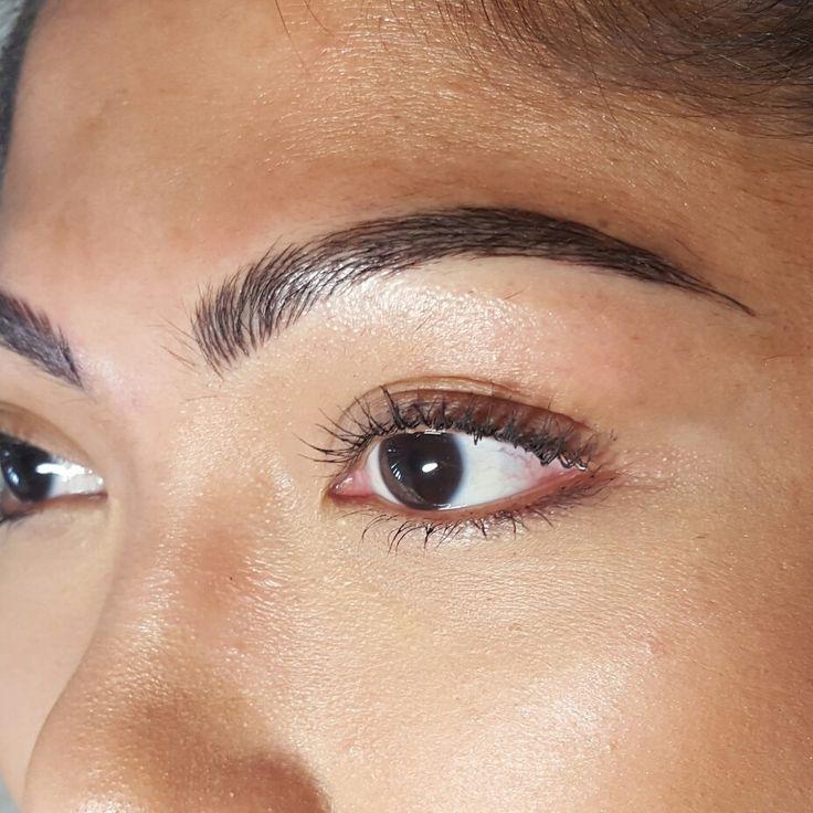 Best 25+ Permanent Eyebrow Tattoo Ideas On Pinterest