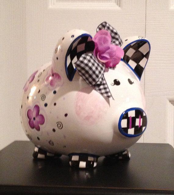 135 Best Images About Piggy Bank On Pinterest Ceramics