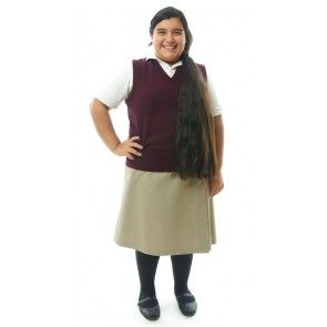 81d5951c0be School Uniform Skirt / Girls Plus Size | dressingforhisglory.com ...