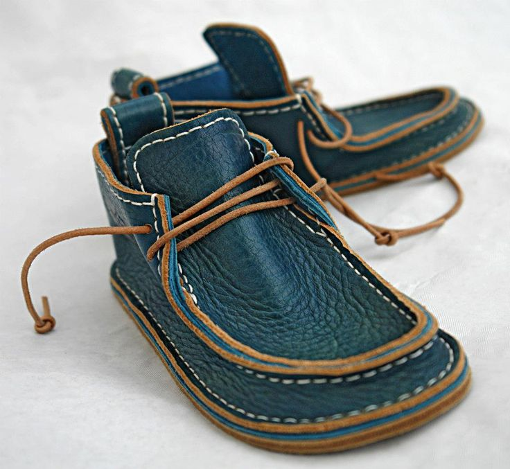 There is something really reassuring about these kids handmade shoes, as if they were made like this for centuries!