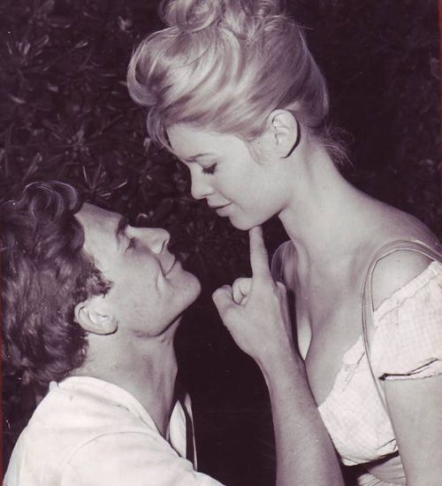 Brigitte Bardot and Jacques Charrier