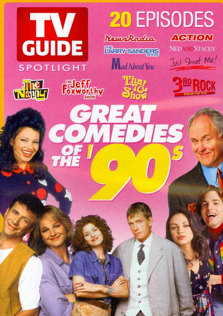 This release contains twenty episodes of various sitcoms that were popular in the 1990s including THAT '70S SHOW, THE NANNY, NEWSRADIO, 3RD ROCK FROM THE SUN, ACTION, and THE LARRY SANDERS SHOW.