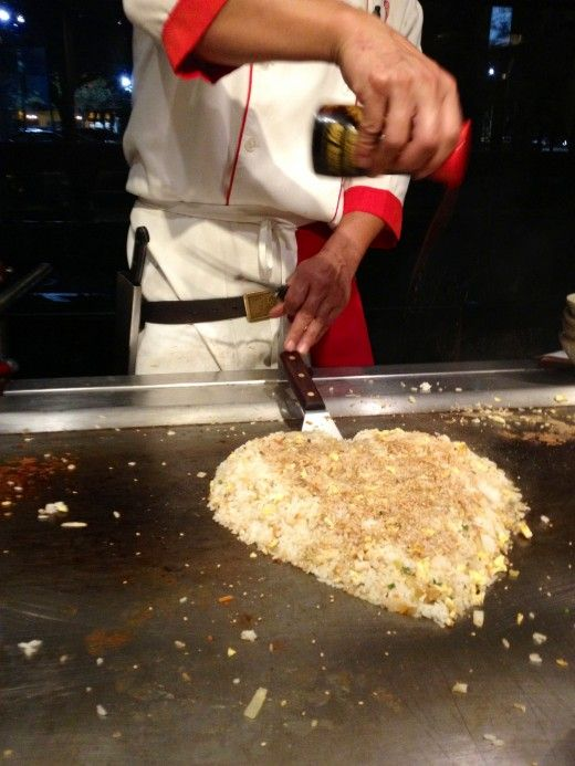 How to Cook Benihana Fried Rice - hibachi rice