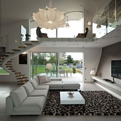 Modern Organic design home - Awesome staircase!