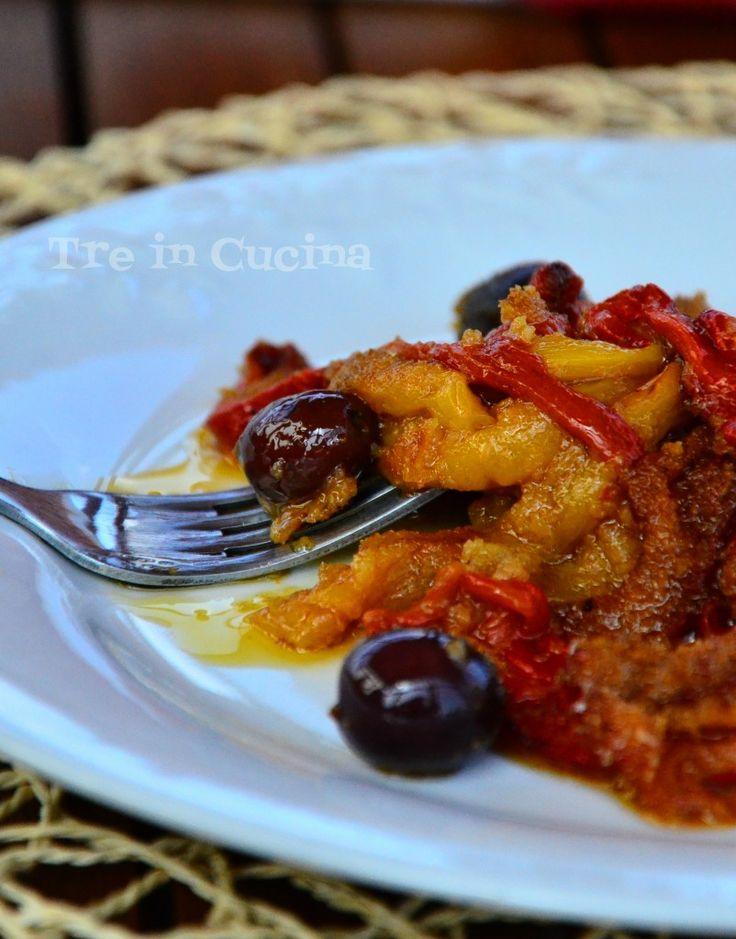 Peperoni al gratin, ricetta al forno