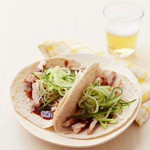 Peking Pork Wraps- summer recipe for leftover pork tenderloin