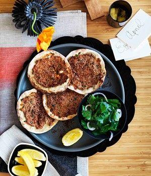 Lahmacun - great Turkish food! #turkishfood #delicious #turkishpizza