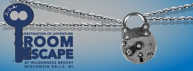 Real life room escape now open at the Wilderness on the Lake Resort in  Wisconsin Dells, WI. Book your room today!