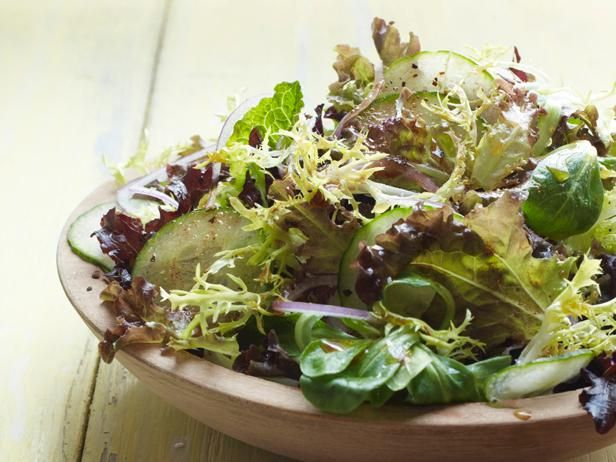 Seasonal Spiced Green Salad with #FarmersMarket greens