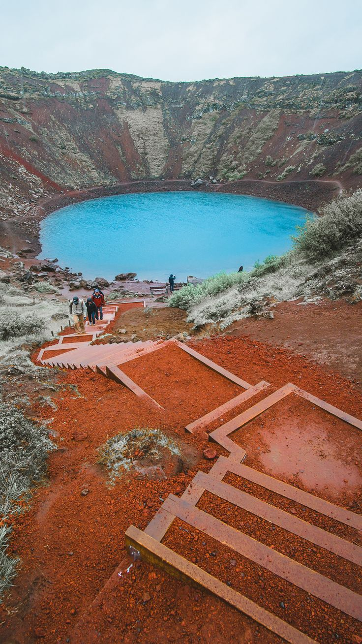 Kerid Crater, a must visit place while traveling the Golden Circle in Iceland