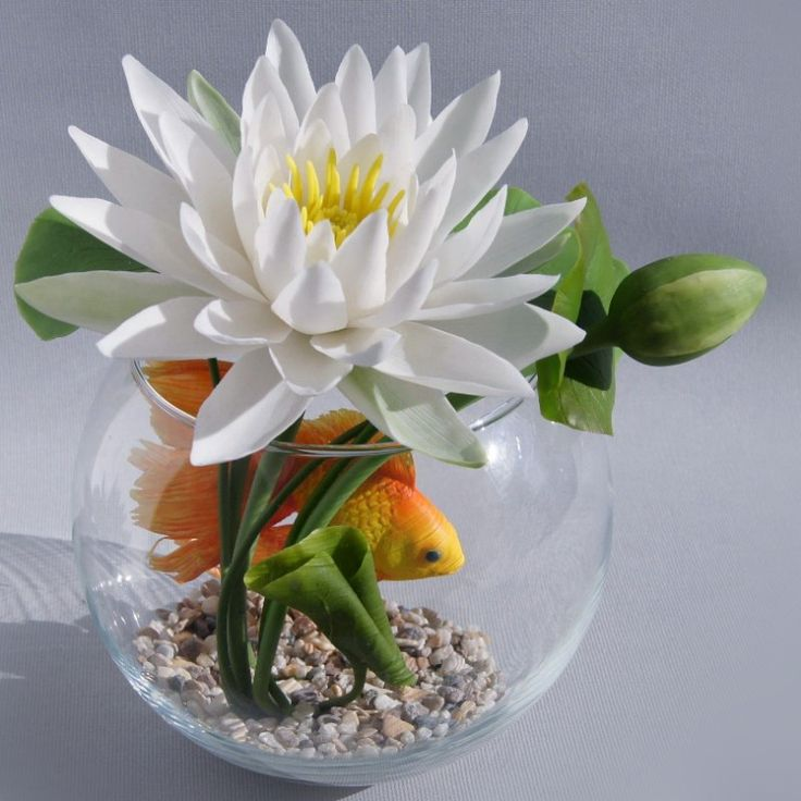 Золотая рыбка для загадывания желаний. ЛЕТО-ЭТО|цветы ручной работы|декор|подарки|