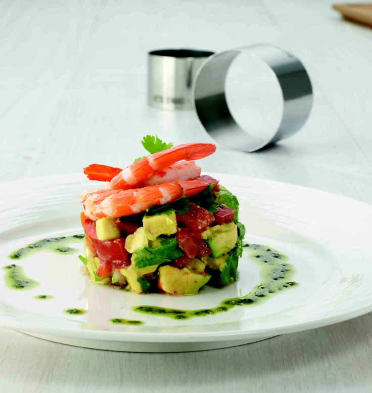 Pete Evans chef rings will make a dish look spectacular. My House