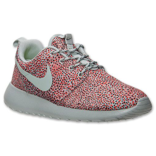 Mens Nike Roshe Run Casual Shoes Classic Stone Volt