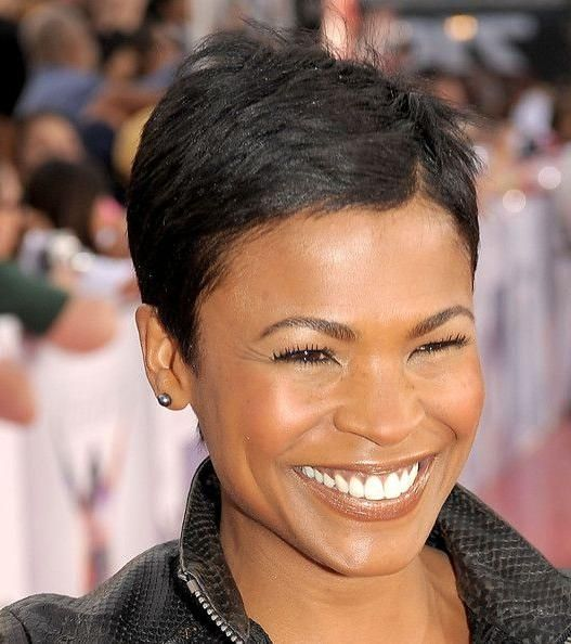 Photo Gallery Of Nia Long Hairstyles Nia Long Short Hair Nia Long Nia Long Hair