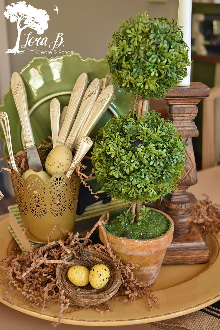 Best everyday centerpiece ideas on pinterest kitchen table decor everyday everyday table - French country table centerpieces ...