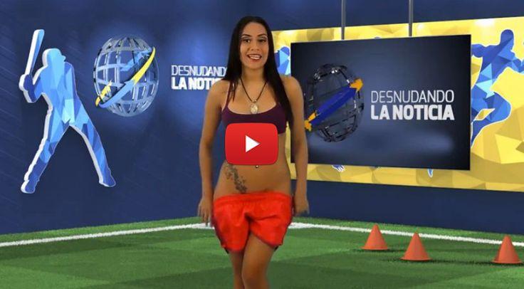 VIDEO: Conductora se desnuda por triunfo de Venezuela ante Colombia (Copa América 2015) - Oye Juanjo!