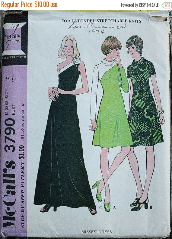 Black Friday Sale 55%Off McCall 3790 1970s by EleanorMeriwether