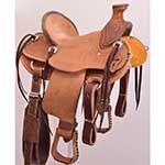 "12"" Classic Kids Saddles Ranch Saddle"