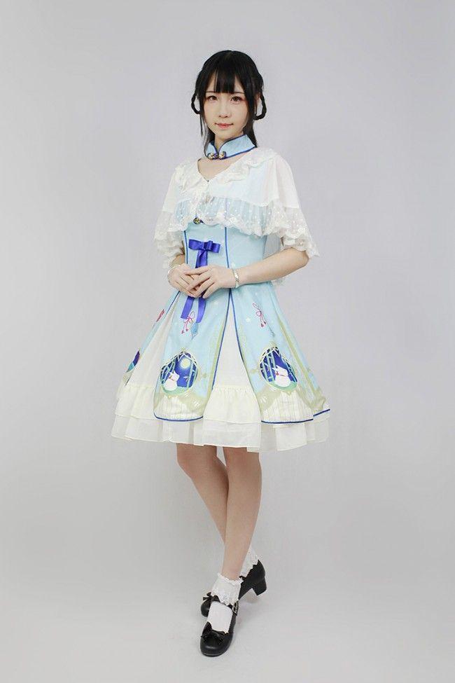 Neverland Lolita ~Chinese Valentine's Bunnies~ Qi Lolita JSK - My Lolita Dress